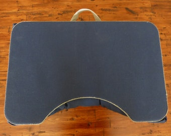 Large Navy Blue and Gray Lap Desk