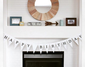 Customize Your Colors - Happy Birthday Banner