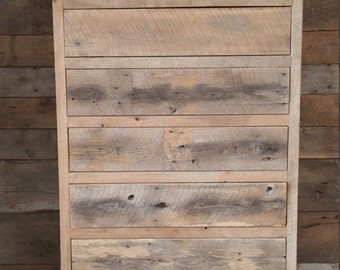 YOUR Custom Tall Rustic Barn Wood Dresser with Free Shipping-CTBWD950F