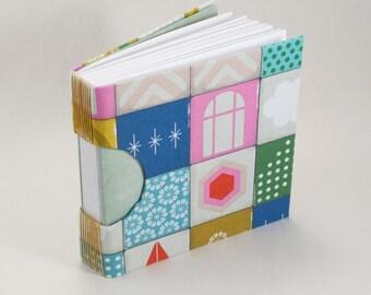 Blank Journal, Notebook, Guestbook or Sketchbook in Funky Pastels