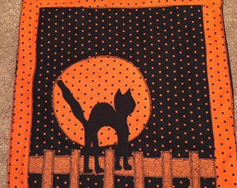 Halloween cat wall  hanging