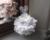 Tin Cupcake Decor - Shabby Chic Decor - Victorian Cupcake Decor