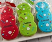 Laser Tag Number Birthday Cookies - 12 Decorated Sugar Cookie Favors