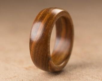 Size 6 - Guayacan Wood Ring No. 285