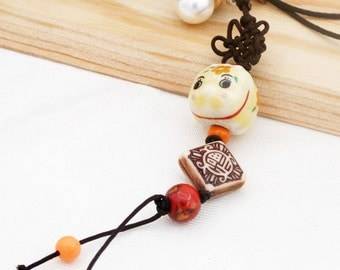 Piggy phone charm/ dust plug (DP)