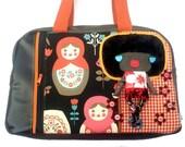 Bag molly creative bag unique bag n60 Matriochka
