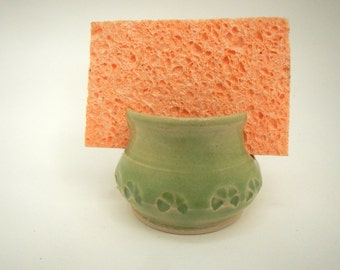 Lime Green Sponge Holder