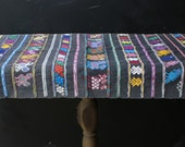 Embroidered Weaving Table Runner Wall Hanging Home Decor Vintage From Nowvintage on Etsy