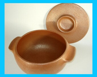 Glittery Micaceous Mini-Casserole 2 qt., All Handcoiled made of Micaceous Pottery in Santa Fe, NM