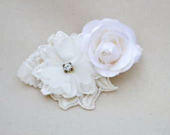 Bridal Flower Hair Clip / Bridal Fascinator / Flower Hair Clip / Flower Girl Hair Clip /  Bridal Hair Clip