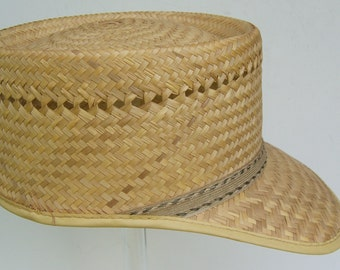 "23"" - Vintage Summer Straw Hat"