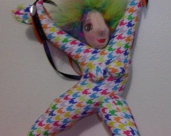Dance of Joy  cloth doll