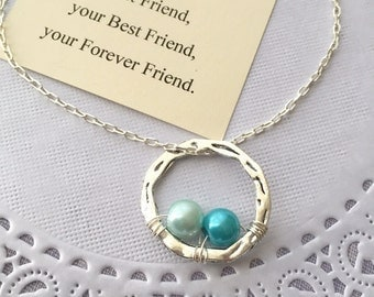 Birthstone, New Mom, Mother, Grandmother, Grandma, Mother's Day, necklace. Comes with FREE card and Jewelry Box.