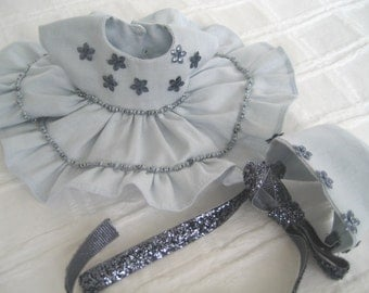 "Ginny 8"" Doll Clothes, ""Raine"" Dress and Bonnet"
