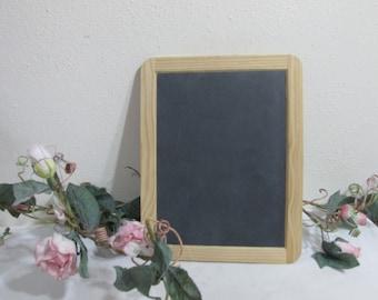 Slate Chalkboard Wood Framed