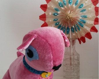 Velvet Elsie Pug Toy