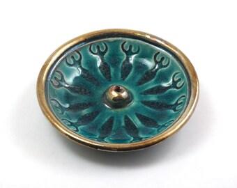 Incense Burner Goddess Handmade Ceramic Pottery