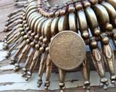 Primitive Rana Tharu Tribal Spike Collar Kanthshri Necklace Nepal