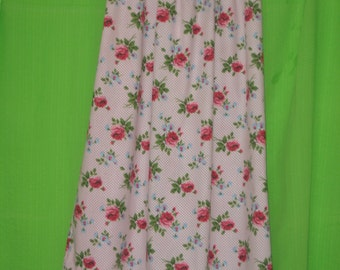 Floral & Spots Print Girls Nightie size 13