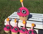 Plush Monster Cupcake - In Stock