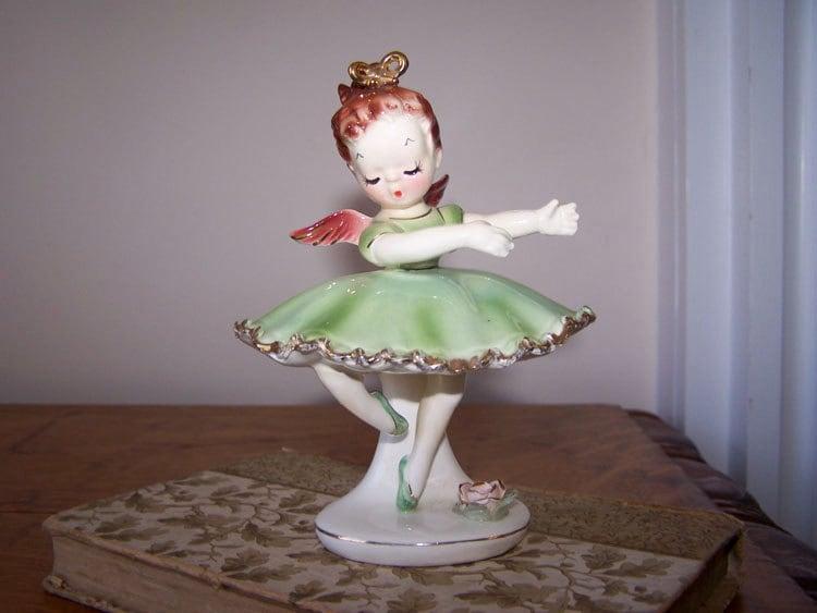 Ballerina Angel Tamchin Angel 7536 Angel Figurine Ballerina