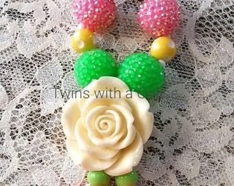 Beaded Keychain,Accessories,Chunky bead Keychain, Keychain,Handmade key chains,Big girl keychain
