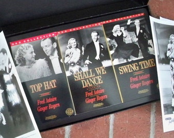 Vintage VHS Film Set Fred Astaire and Ginger Rogers Turner Home Entertainment