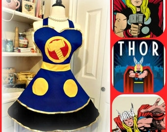 Retro Thor woman's apron
