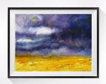 Wall Art Decor - Abstract Painitings Landscape Landscapes, LaBergeMurenStudios