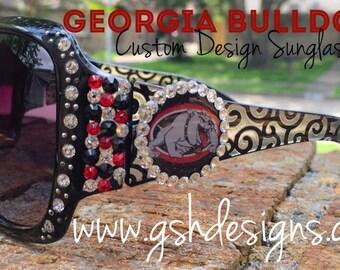 Georgia Bulldogs Inspired Sunglasses