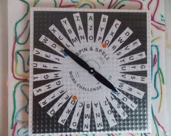 Board Game of  Alphabets Spin And Spell Word Challenge