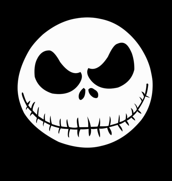 jack skellington face template - 6 3 jack skellington svg jpeg instant digital download