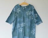 CLEARANCE SALE--B141A--Nice and simple(Batik tunic)