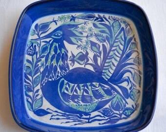 Vintage Ceramic Bird Dish - Mid Century Marianne Johnson Royal Copenhagen