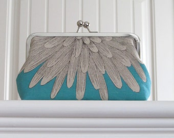 Chrysanthemum Bridesmaid Clutch,Wedding Clutch,Bridal Accessories,Bridal Clutch,Bags And Purses