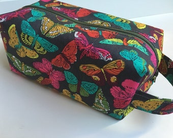 Toiletry Bag Women, Travel  Bag, Toiletry Bag,  Butterfly