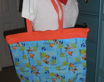 Finding Nemo Tote bag not a licensed product