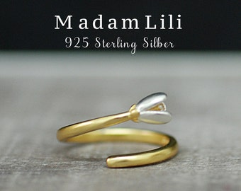 Ring Lily Silver 925