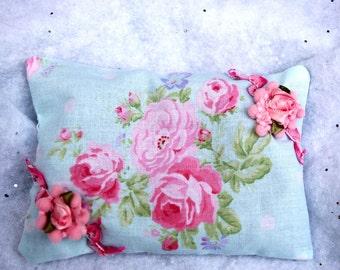 Shabby Roses Ornament  Sachet
