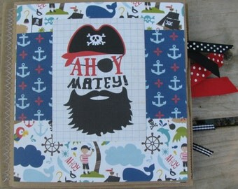 Ahoy Matey! Pirate Scrapbook