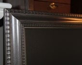 "Large, Vintage-Framed, ""Soft Flat Iron"" Finished, Magnetic, Chalkboard (22 1/4 x 31 1/4 inches) Wedding/Home/Restaurant"