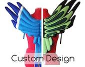 CUSTOM BIRD WINGS. You choose color, design style.