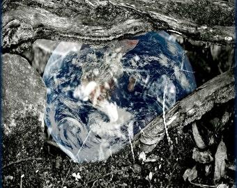 MOTHER EARTH Photo Inspiring Abstract Original Color Art Photograph