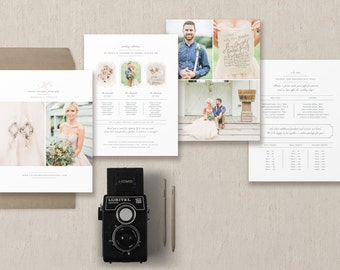 Wedding Photographer Price List - Events Planner Pricing Guide - Photographer Pricing Guide Template - Wedding Package Pricing
