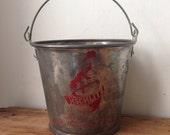 Vintage Schlitz Advertising Beer / Bottle Cap Bucket, Milwaukee 1960s
