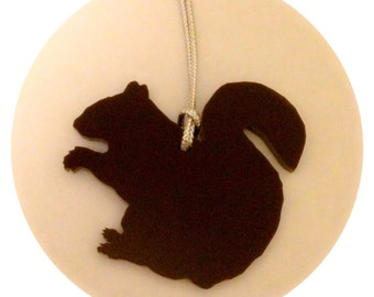 Squirrel Animal Shape Holiday Decor - Brown Squirrel Ornament