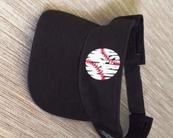 Baseball Mom Visor Personalized with Your Player's Number/FREE SHIPPING!