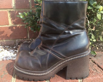 90s Chunky Boots