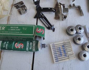 Vintage Singer Sewing Machine Attachments Ruffler Edge Stitcher