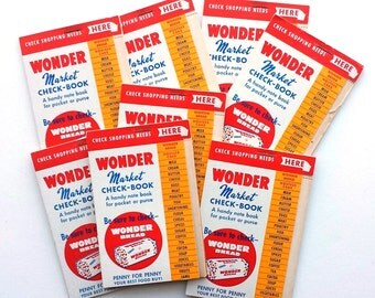 2 Wonder Bread Market Check Booklets